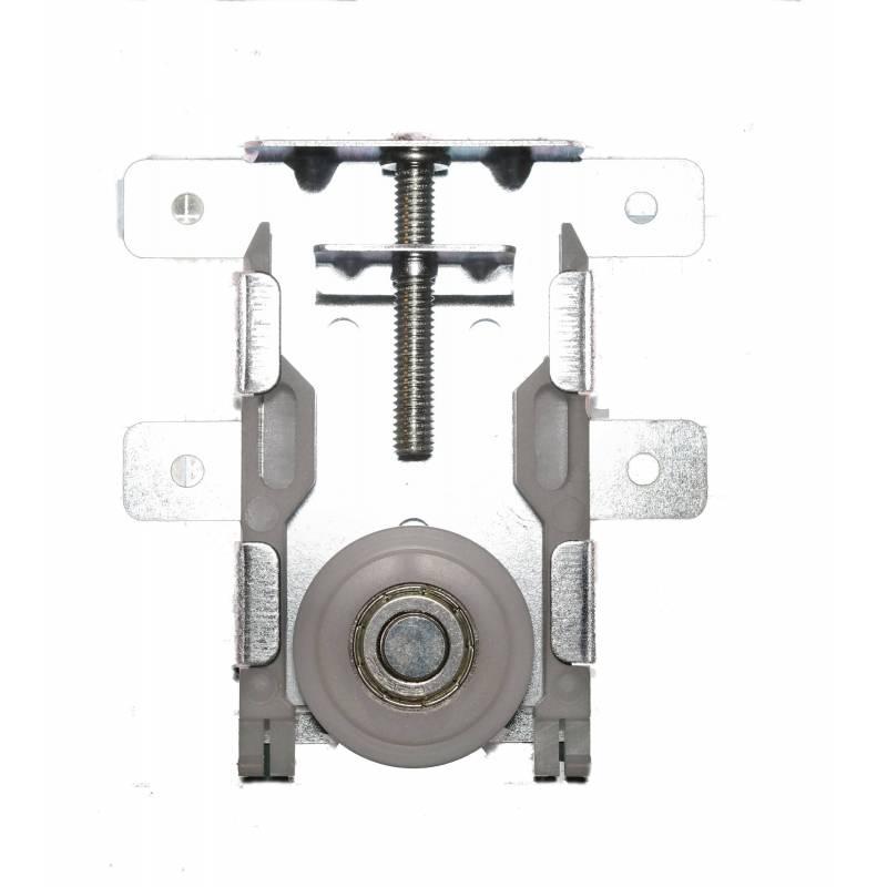 Kit de galet roulette pour porte coulissante x 2 sanilandes - Systeme de roulette pour porte coulissante ...