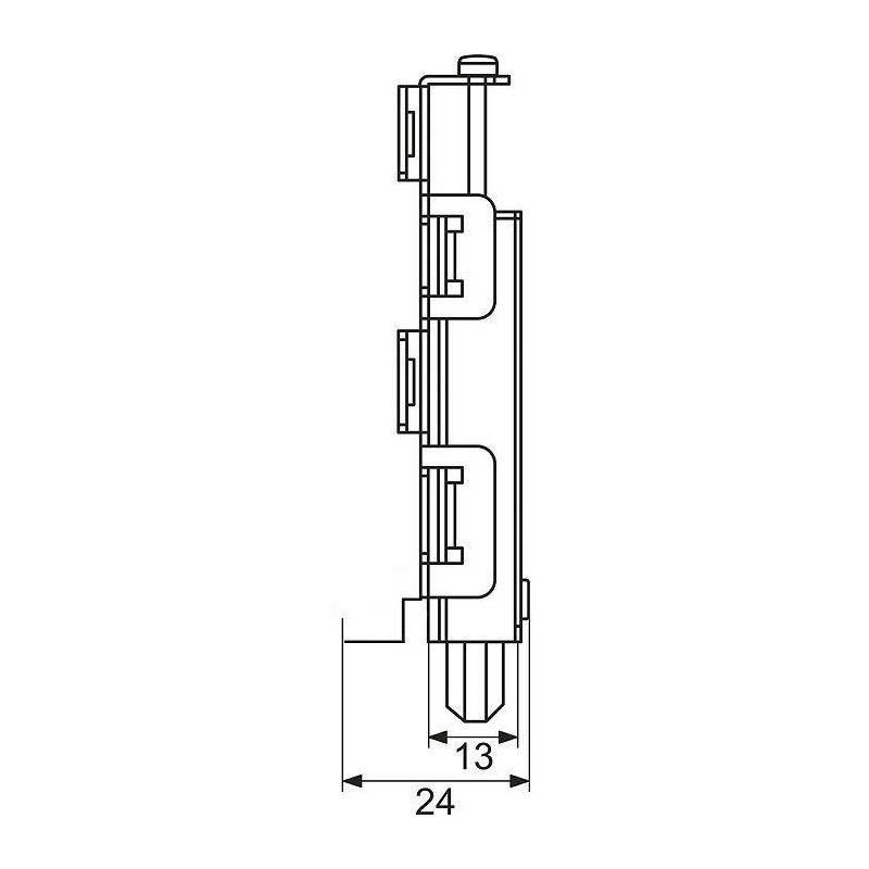roulette sifisa pour porte de placard coulissante galet placard sanilandes. Black Bedroom Furniture Sets. Home Design Ideas