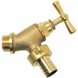 robinet d'arrêt incliné à tête de potence  mâle 15x21-20x27