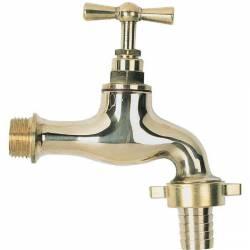 robinet d'arrosage poli 15x21-20x27