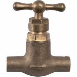 robinet d'arrêt  à souder Ø 14