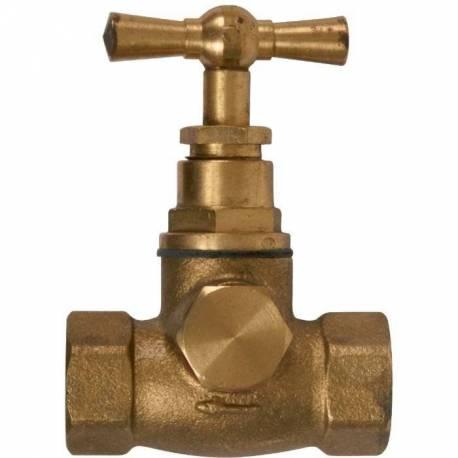 robinet d'arrêt 1 bouchon ff 15x21