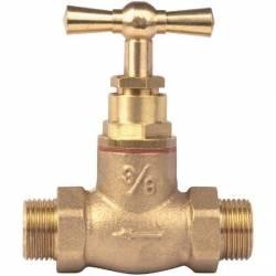 """robinet d'arrêt + épaulement Male Male 12x17 3/8"""""""