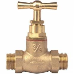 robinet d'arrêt + épaulement mm20x27