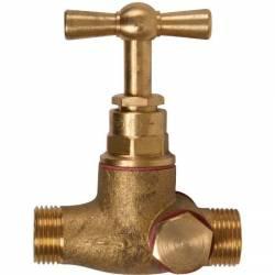 robinet d'arrêt 2 bouchons MM 12x17