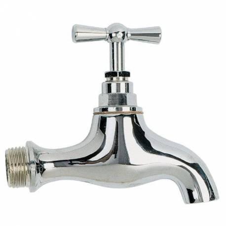 """robinet de puisage Male 1/2"""" robinet de jardin en laiton chromé"""