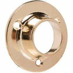 2 naissances embout de tube rond laitonné de marque DUVAL Ø 20 ou Ø 25 mm