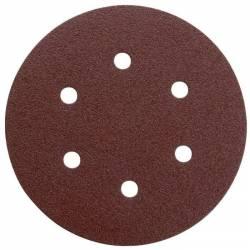 Disque auto-agrippant Ø 150 mm grain de 80   x5 disques