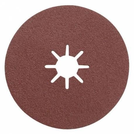Disque abrasif Ø 115 x 22 grain de 80  x 3 disques