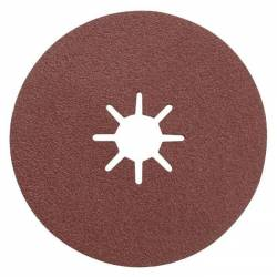 Disque abrasif Ø 125 x 22 grain de 80  x 3 disques