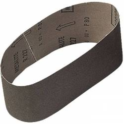 Bande abrasive 100 x 610 mm grain de 80  x 3 bandes