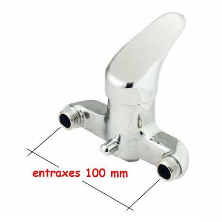 """mitigeur douche entraxe 100 mm  Male 1/2"""" 15x21 mitigeur pour rénovation"""