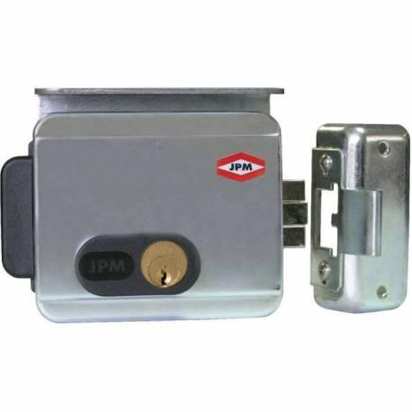 serrure électrique de porte interieur exterieur axe 50/70 mm modèle réversible gauche droite
