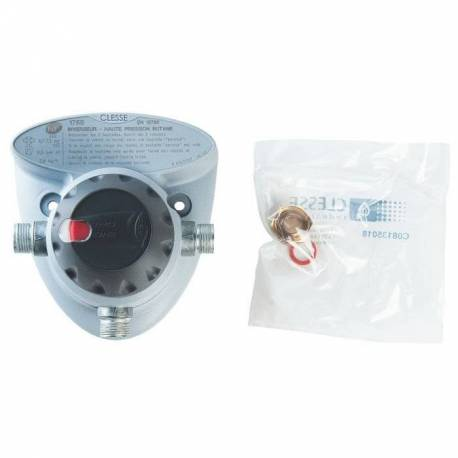 Inverseur automatique 1ère détente butane 2,6 kg/h de Clesse