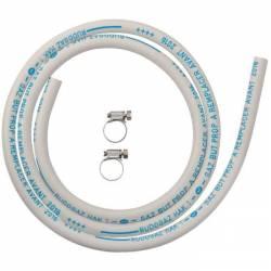 Flexible de gaz tuyau en caoutchouc blanc  Eurogaz