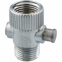 robinet stop douche économie d'eau garantie  raccord Male femelle 15x21