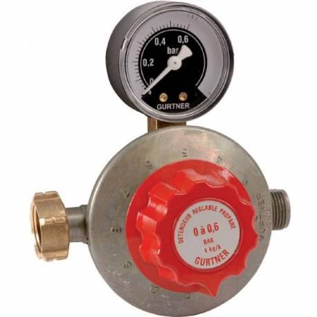 Détendeur réglable basse pression sortie mâle 20x150
