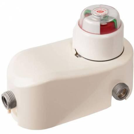 Inverseur limiteur propane avec indicateur service/réserve