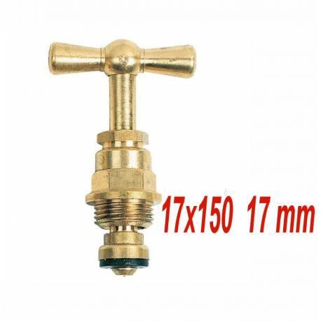 tête de robinet à potence 17x150