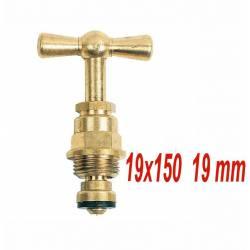 tête de robinet à potence  19x150