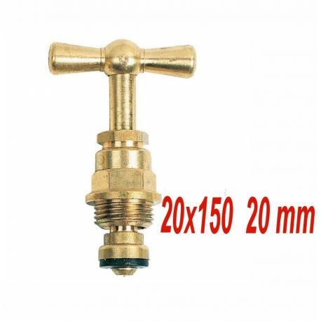 tête de robinet à potence  20x150