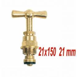 tête de robinet à potence 21x150