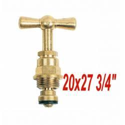 "tête de robinet à potence 20x27 3/4"" robinet jardin fontaine"