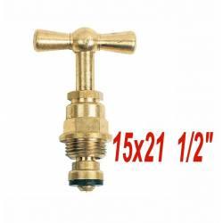 """tête de robinet à potence 15x21  1/2"""""""