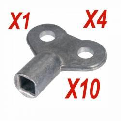 clef de purgeur radiateur clé de 5 mm