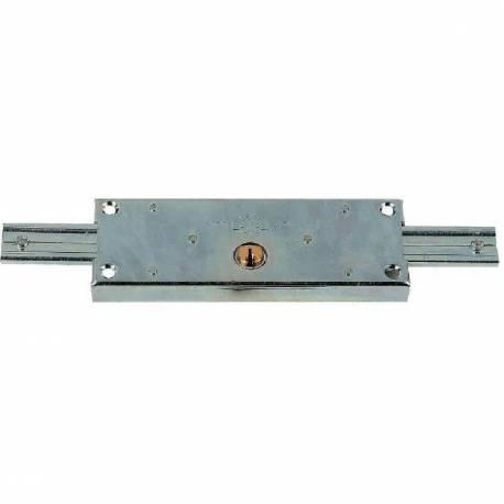 serrure pour rideau métallique cylindre rond Ø 25 mm marque PREFER