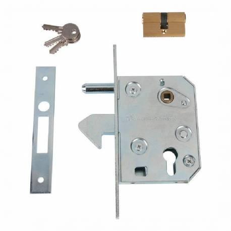 serrure portail porte coulissant à crochet type 445 GUITEL serrure