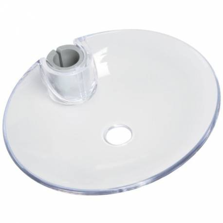 Porte-savon cristal Bossini Livré avec adaptateur barre Ø 18 et 25