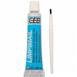 Réparation pour éclats ou fines rayures sur sanitaire blanc LIMPIMAIL de GEB