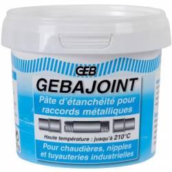 Pâte à joint beige pour raccords filetés métalliques GEB 500 g