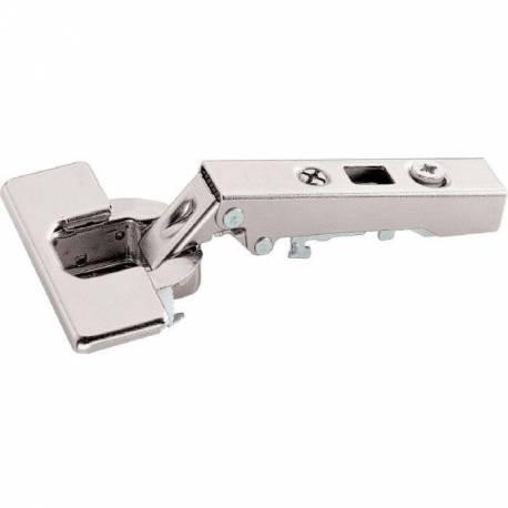 Charnière boitier HETTICH à montage rapide angle d'ouverture 110°