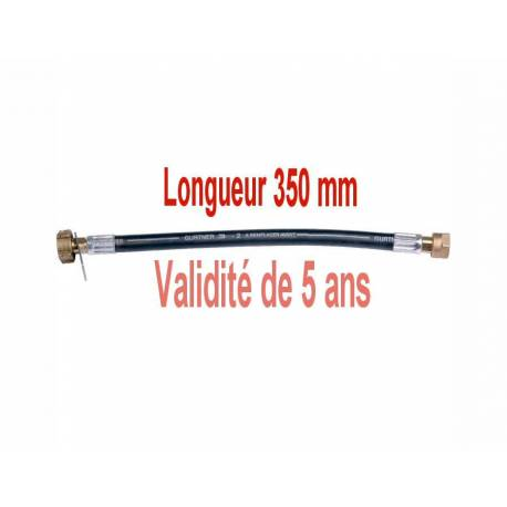 Lyre souple gaz butane propane longueur 350mm