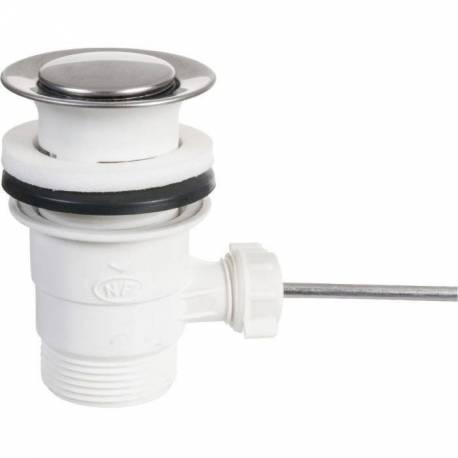 bonde pour vidage lavabo vasque livr sans la tirette bonde pvc blanc sanilandes. Black Bedroom Furniture Sets. Home Design Ideas