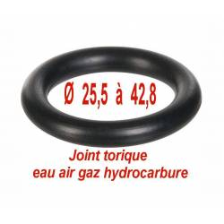 joint torique eau gaz air hydrocarbure -20°C à +80°C sachet de 10 joints