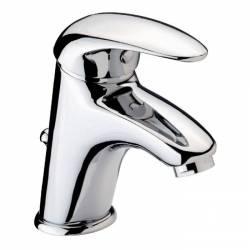 mitigeur lavabo design chromé modèle city 2 livré sans bonde