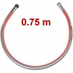 Flexible de gaz inox durée illimitée plusieurs longueurs disponibles