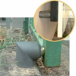 Arrêt de portail butée magnétique puissance 10 Kg composite MONIN & CIE