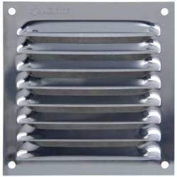 Grille d'aération grille en inox à lames en auvent plusieurs modèles disponibles
