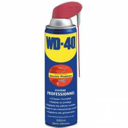 WD40 Sytème PRO 500 ml valve grande surface double position