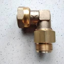 raccord gaz coudé 90° F20x150 M 20x150