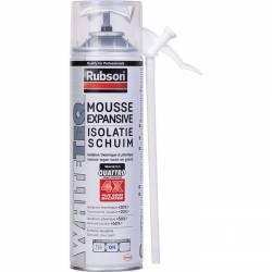 Mousse expansive RUBSON WHITETEQ thermique et phonique 500 ml