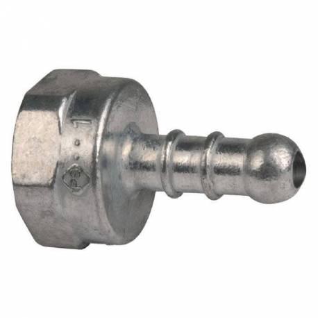 Tétine droite pour butane et propane 15/21 Ø 10mm
