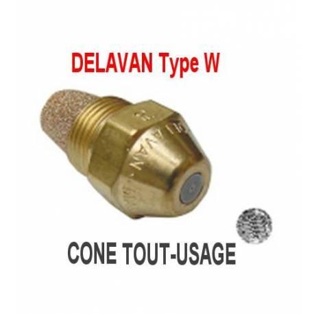 Gicleur DELAVAN type W 60° 0.60 cone tout usage