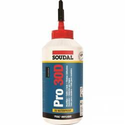 Colle vinylique PRO 30 D prise rapide de marque SOUDAL 750 ml